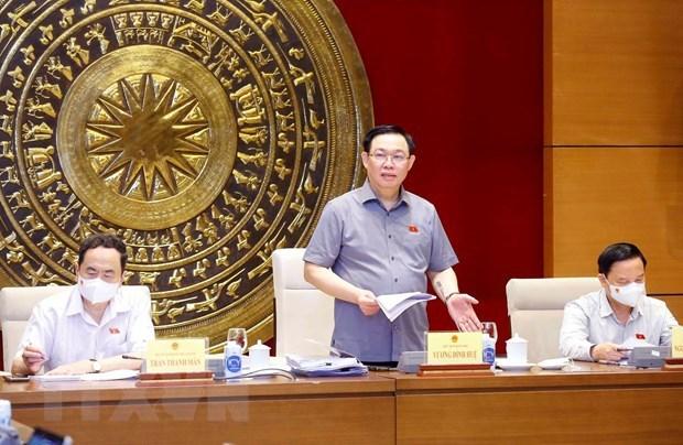 L'Assemblee nationale donnera des suggestions a sept projets de loi hinh anh 1