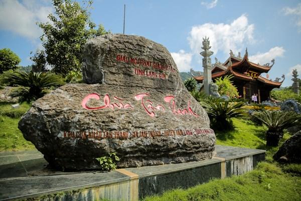 La pagode Tan Thanh, haut lieu spirituel a la frontiere septentrionale hinh anh 1