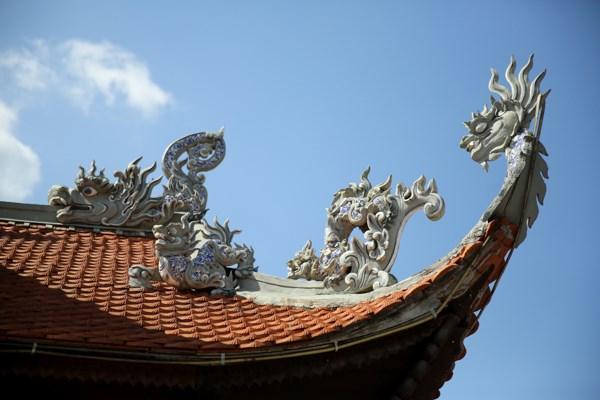 La pagode Tan Thanh, haut lieu spirituel a la frontiere septentrionale hinh anh 5