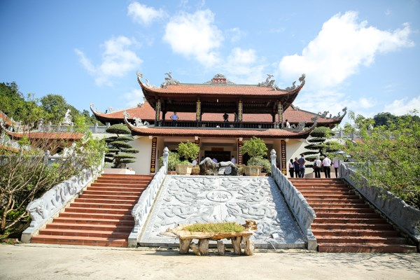La pagode Tan Thanh, haut lieu spirituel a la frontiere septentrionale hinh anh 6