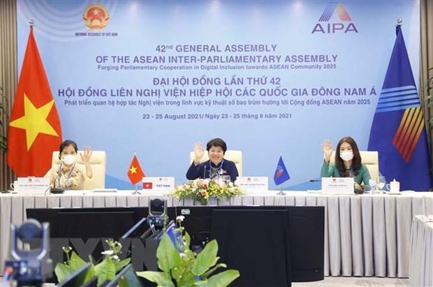 L'AIPA exhorte a promouvoir l'autonomisation des femmes apres le Covid-19 hinh anh 1