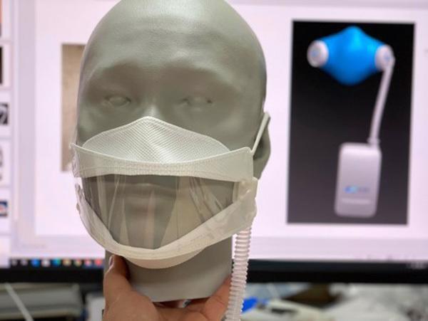 L'homme d'affaires qui a invente le ventilateur MV20 fabrique un masque anti-virus hinh anh 2