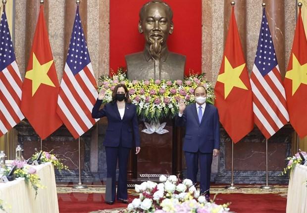 Le Vietnam considere les Etats-Unis comme l'un de ses premiers partenaires hinh anh 1