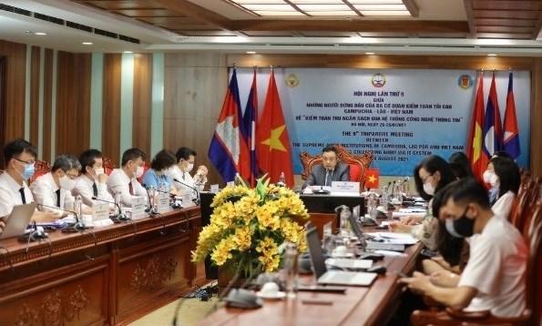 Les Audits d'Etat du Vietnam, du Laos et du Cambodge en conference hinh anh 1