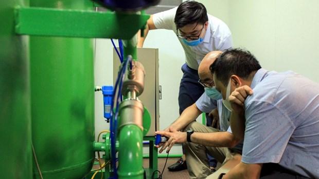 Covid-19: mise au point d'un dispositif ambulant de generation d'oxygene et de gaz comprime au service des patients hinh anh 1