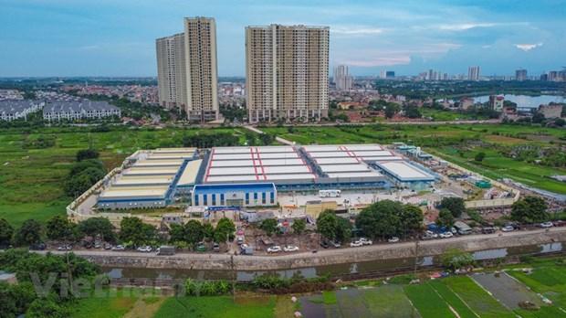 Mise en service prochaine d'un hopital de traitement de patients de SARS-CoV-2 a Hanoi hinh anh 1