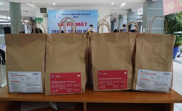 COVID-19 : Mise en oeuvre d'un programme d'aide en medicaments a Ho Chi Minh-Ville hinh anh 1
