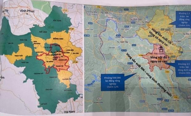 Hanoi va zoner pour d'empecher la propagation du COVID-19 hinh anh 1