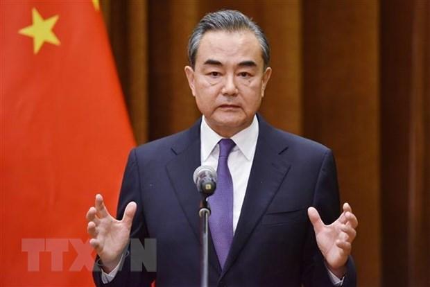 Le ministre chinois des Affaires etrangeres Wang Yi se rendra au Vietnam hinh anh 1