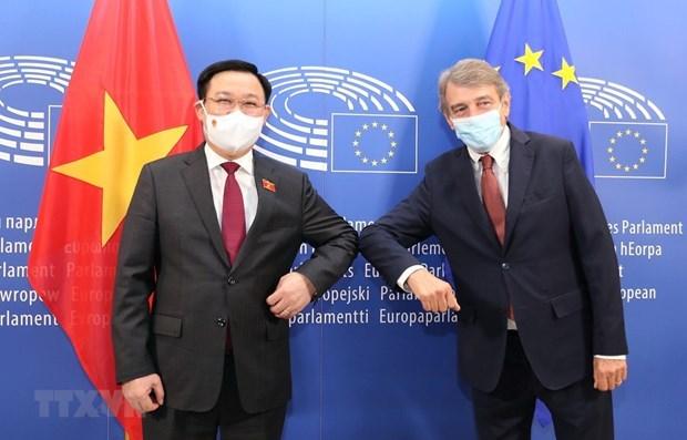 Presse allemande : la visite du president de l'AN en Europe reflete la politique diversifiee du Vietnam hinh anh 1