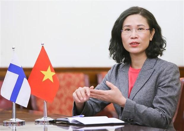 Le president de l'Assemblee nationale du Vietnam se rend en Finlande hinh anh 2