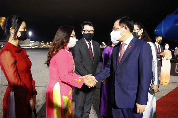 Le president de l'Assemblee nationale du Vietnam se rend en Finlande hinh anh 1