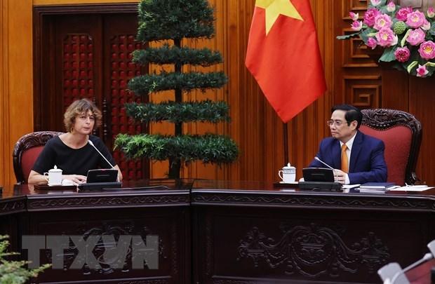 Le PM Pham Minh Chinh recoit l'ambassadeur des Pays-Bas au Vietnam hinh anh 1