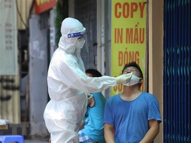 COVID-19 : Hanoi confirme 15 nouveaux cas dans le bilan actualise a midi hinh anh 1