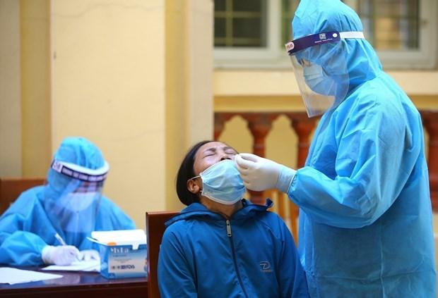 Covid-19: Hanoi enregistre 3 nouveaux cas ce mardi matin hinh anh 1