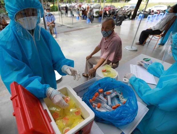 COVID-19 : Le Vietnam signale 10.508 nouveaux cas en 24 heures hinh anh 1