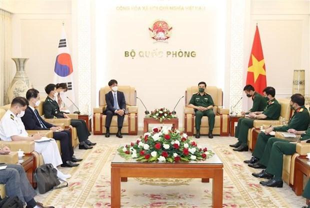 Le Vietnam et la Republique de Coree cultivent leurs relations de defense hinh anh 1