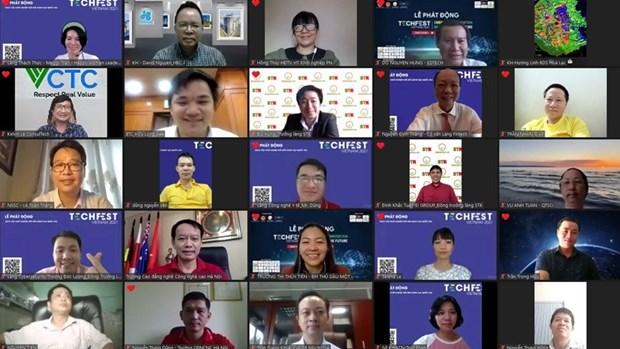Le Techfest Vietnam 2021 promeut des solutions innovantes pour relancer l'economie hinh anh 1
