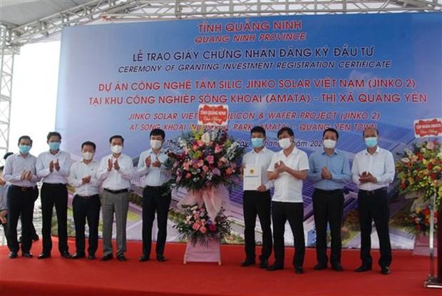 Quang Ninh remet le certificat d'investissement a un projet de plus de 365 millions de dollars hinh anh 1