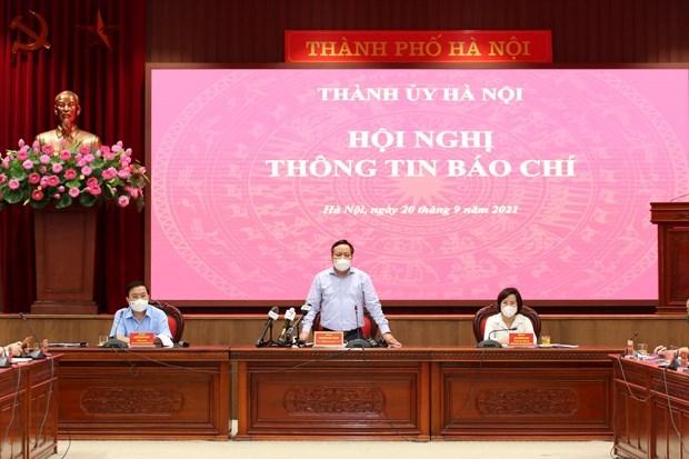 Hanoi assouplit davantage ses mesures de restriction contre le Covid-19 hinh anh 1