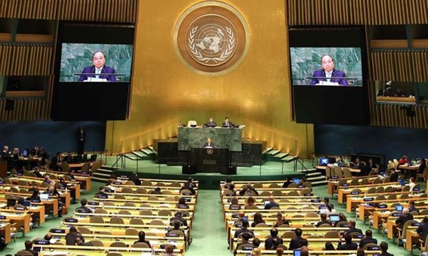 Le Vietnam, partenaire solide pour la paix et le developpement durable hinh anh 1