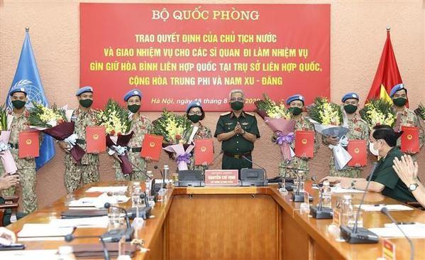 Le Vietnam, partenaire solide pour la paix et le developpement durable hinh anh 2