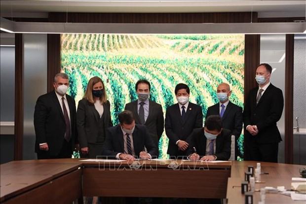 Le Vietnam et les Etats-Unis renforcent leur cooperation agricole hinh anh 1