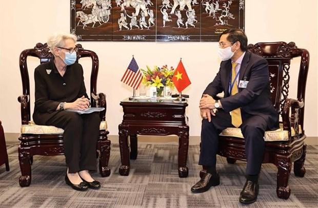La diplomatie vietnamienne active a New York et a la 14e reunion du G3 hinh anh 1