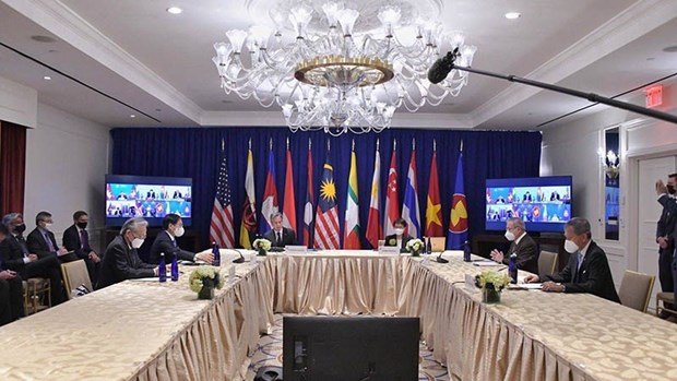 Des diplomates vietnamiens tiennent des rencontres bilaterales a New York hinh anh 1