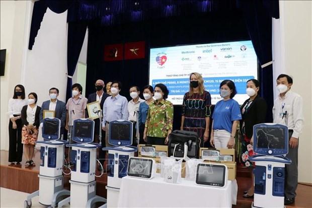 Coronavirus : l'AmCham Vietnam vient en aide a Ho Chi Minh-Ville hinh anh 1