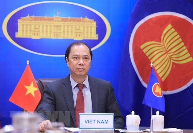 Le groupe de travail du Conseil de coordination de l'ASEAN tient sa 7e reunion hinh anh 1