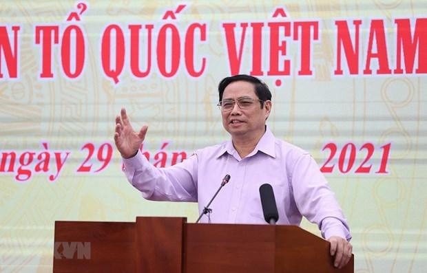 Renforcement de la cooperation entre le gouvernement et le Front de la Patrie du Vietnam hinh anh 1