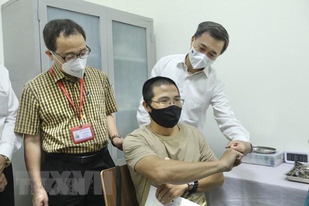Covid-19 : essais cliniques des phases 2 et 3 du vaccin ARCT-154 produit par le Vietnam hinh anh 1