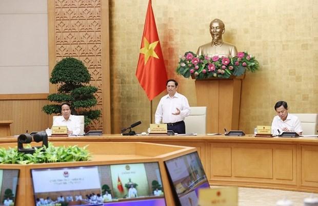 Le Premier ministre travaille avec les autorites de Thua Thien-Hue hinh anh 1