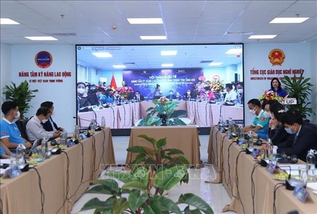 Seminaire international sur le renforcement des competences des travailleurs vietnamiens hinh anh 1