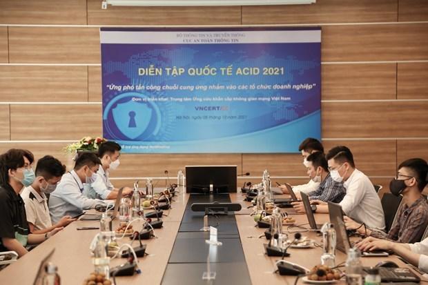 ACID 2021 gere les cyberattaques contre la chaine d'approvisionnement hinh anh 2