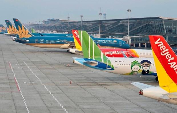 La reprise du transport aerien interieur est en cours au Vietnam hinh anh 1