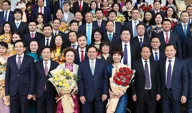 Le PM met en avant la foi des entreprises et la responsabilite du gouvernement hinh anh 2