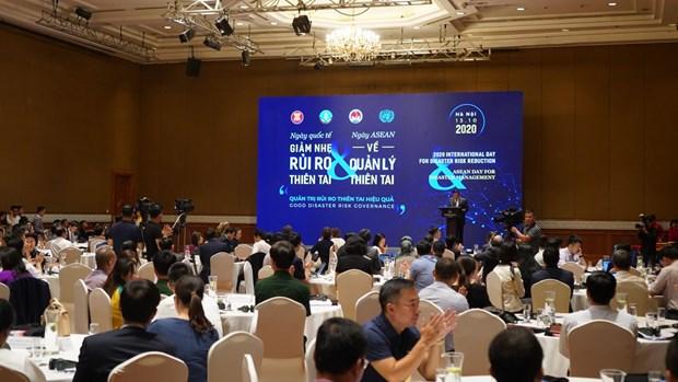 Le Vietnam oeuvre avec l'ASEAN pour relever le defi des catastrophes hinh anh 1