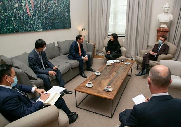 Vietnam – Belgique : perspectives de cooperation dans de nombreux domaines hinh anh 2