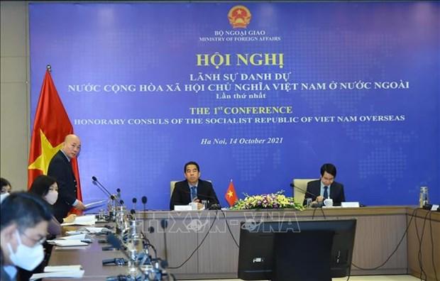 Le Vietnam tient sa premiere Conference des consuls honoraires a l'etranger hinh anh 1
