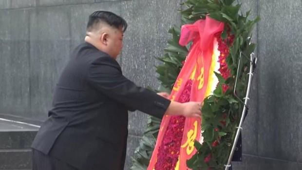 Le president Kim Jong-un termine sa visite officielle d'amitie au Vietnam hinh anh 8
