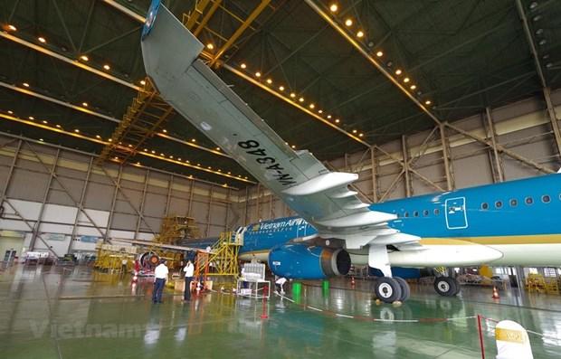 Un joint-venture d'ingenierie aerospatiale Vietnam-Singapour fait ses debuts hinh anh 1