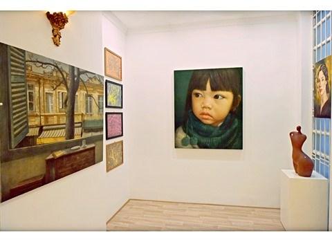 L'espace d'art Tan Ha Noi accueille ses premiers visiteurs hinh anh 1