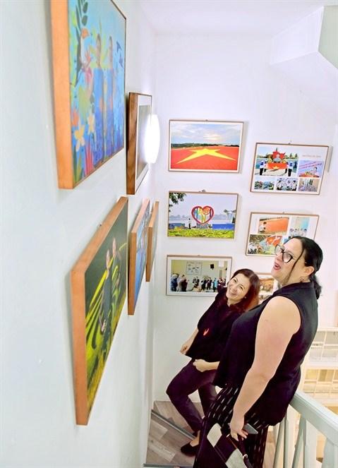L'espace d'art Tan Ha Noi accueille ses premiers visiteurs hinh anh 2