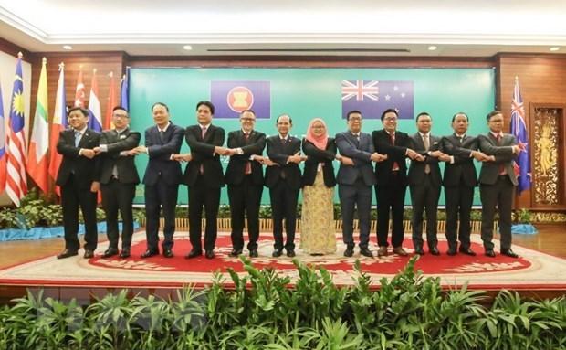 L'ASEAN et la Nouvelle-Zelande tiennent leur 27e dialogue annuel hinh anh 1
