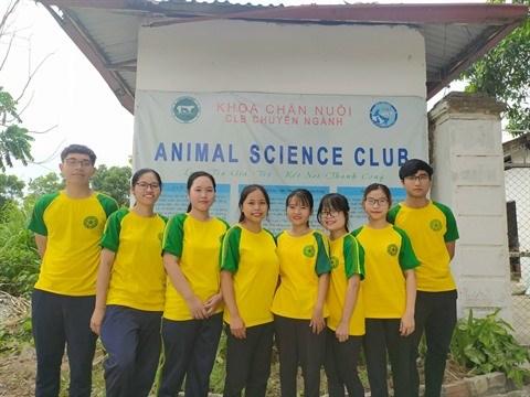 Le club de science animale ou la passion de l'agriculture deploie ses ailes hinh anh 1