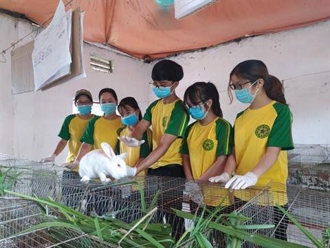 Le club de science animale ou la passion de l'agriculture deploie ses ailes hinh anh 2