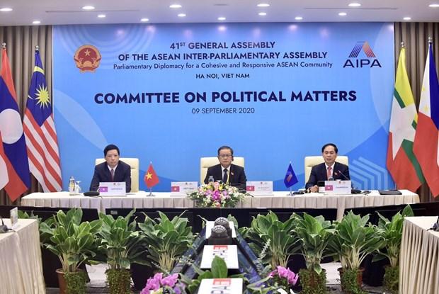 AIPA 41: diplomatie parlementaire pour une paix et une securite durables hinh anh 1