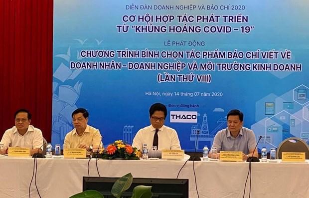 De la cooperation entre les entreprises et la presse au temps du cororavirus hinh anh 1
